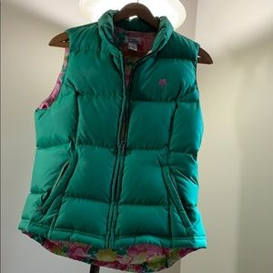 Lilly Pulitzer Green Vest